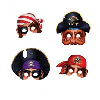 pirate mask party kids adult face