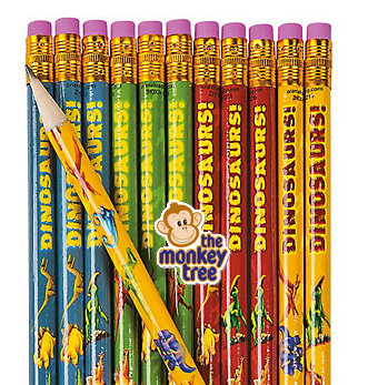 Dinosaur Pencil Party Loot Gift Bag present prize