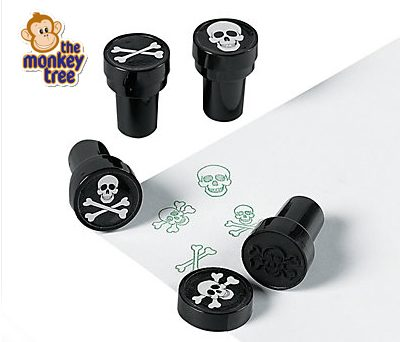 pirate party stamper invite