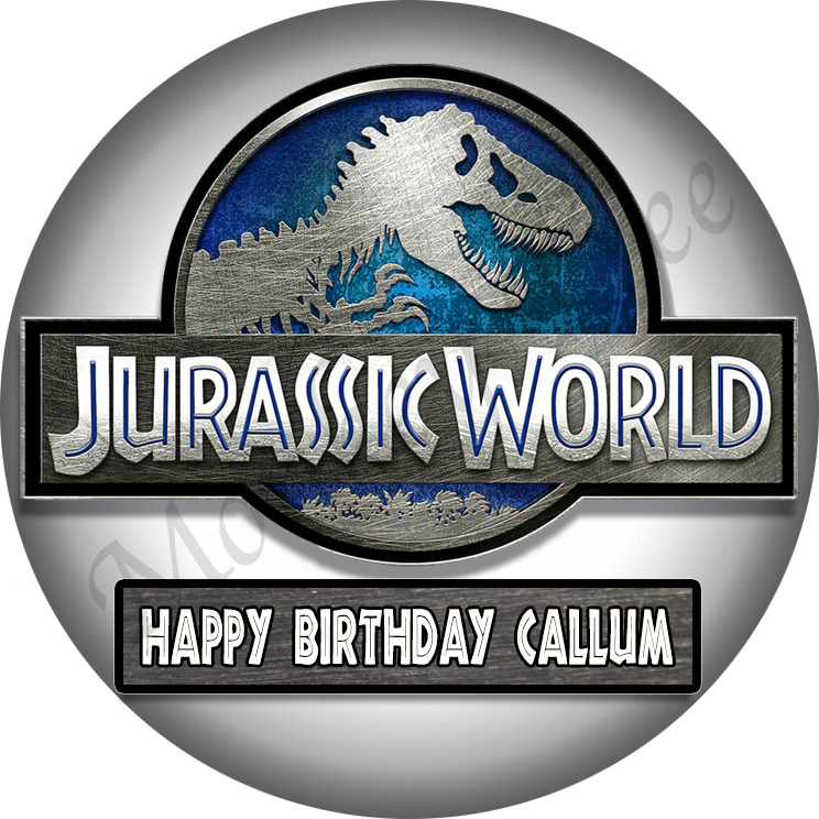 Jurassic World Edible Cake Images