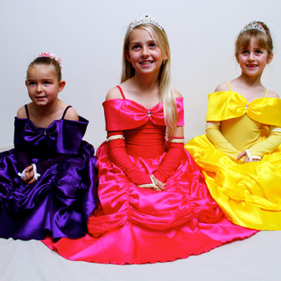 belle princess dress party