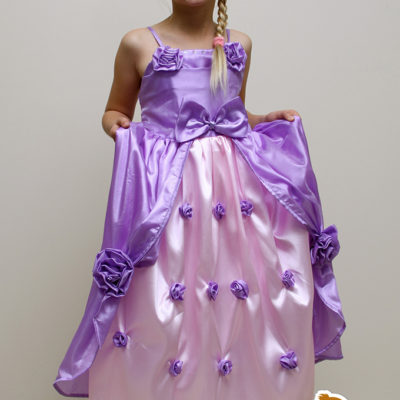 rapunzel princess dress party