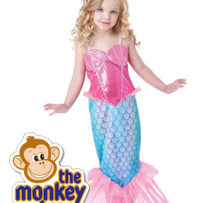 mermaid party dress one piece princess ariel