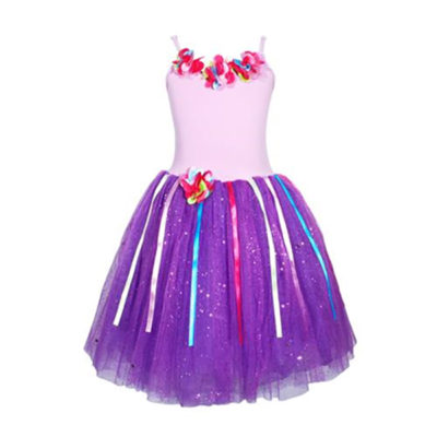 rainbow fairy dress lilac