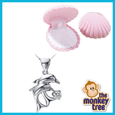 dolphin necklace pendant
