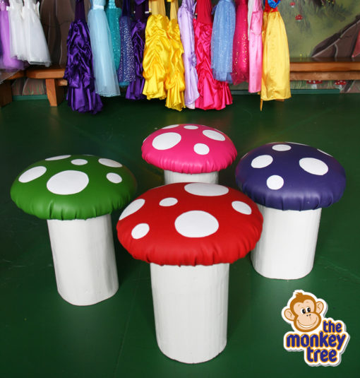 toadstool seat chair child wooden handmade