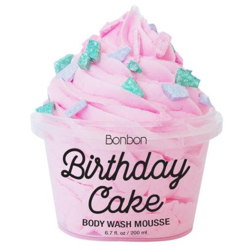 bonbon birthday cake body wash