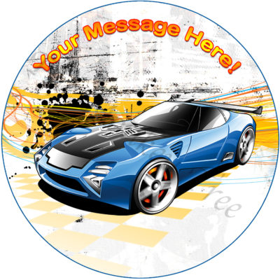 hot wheels edible cake image photo cars birthday party