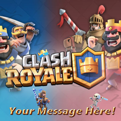 clash Royale edible cake image topper clash clans birthday party