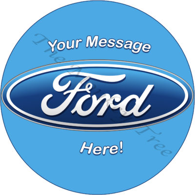 ford birthday cake edible cake image topper ford