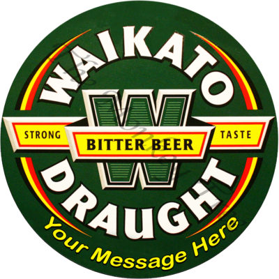 Waikato 60th 50th 21st beer bike birthday cake edible cake image topper Waikato draught pub alcohol