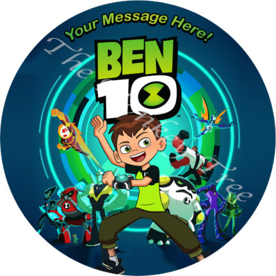 ben 10 tennison edible cake image topper birthday party Auckland aliens cake cupcake