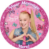 jojo Siwa edible cake image topper party birthday cake cupcake