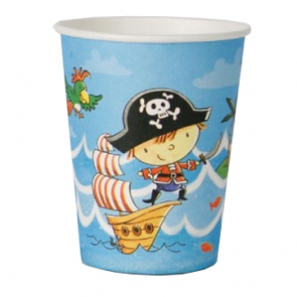 Pirate Party Cup Birthday