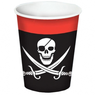 Pirate Birthday Party Paper Cup