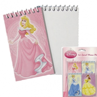 disney princess notepad party loot bags