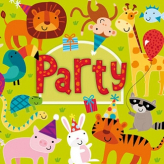Jungle Party Animal Paper Napkin Birthday