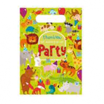 Jungle Party Animals Loot Gift Bags