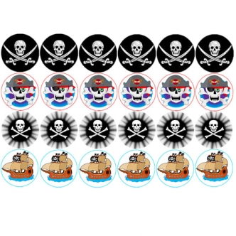 pirate cupcake images edible birthday