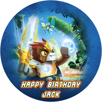 Lego Chima Edible Cake Image Topper Cupcake birthday party