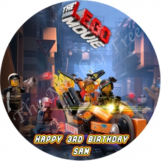 Lego Movie Edible Cake Image Topper Cupcake birthday party