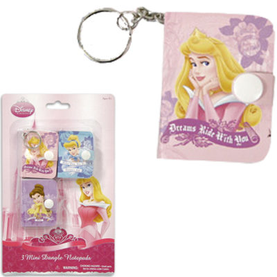 disney princess notepad loot bags