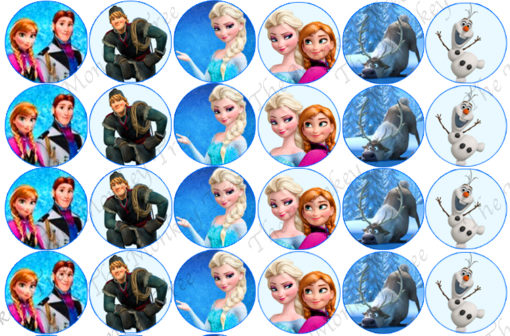 frozen cupcake images edible cupcake topper images