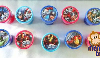 avengers stamper loot bag birthday party loot bag gift
