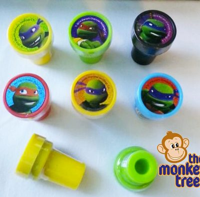 tmnt stamper loot bag birthday party loot bag gift