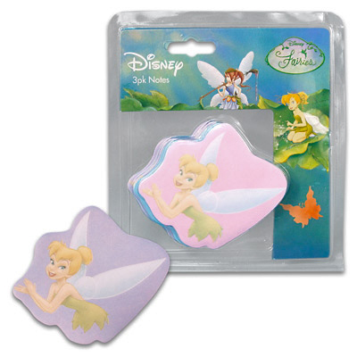 tinkerbell notepad sticker loot bags
