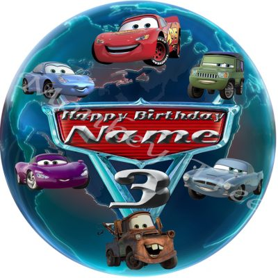 Disney cars lightning McQueen edible cake image topper birthday cupcakes
