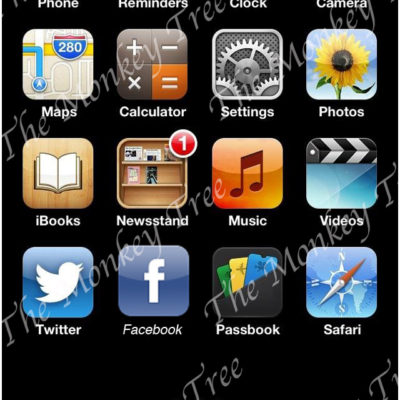 iPhone screen edible cake image fondant