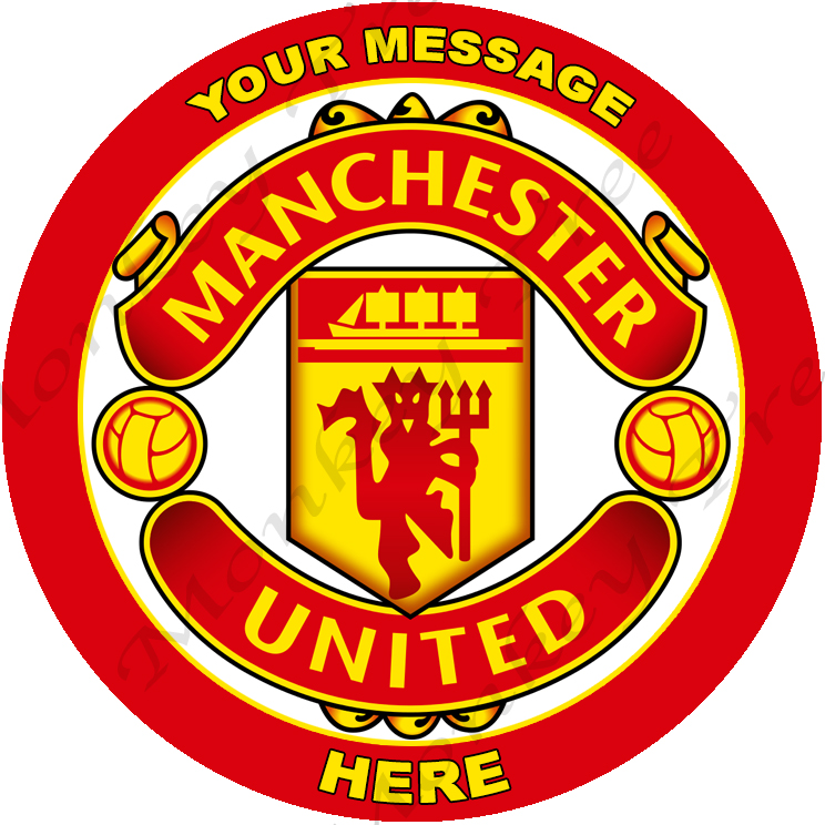 Manchester United Cake Topper Nz