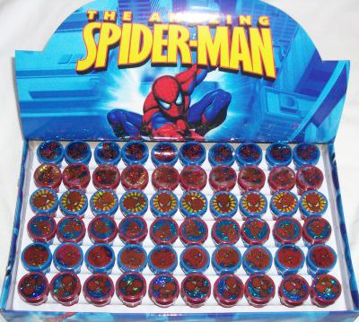 spiderman stamper loot bag