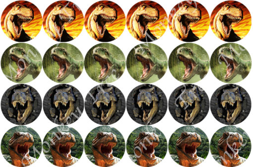 t rex jurassic world dinosaur edible cake image fondant jurassic