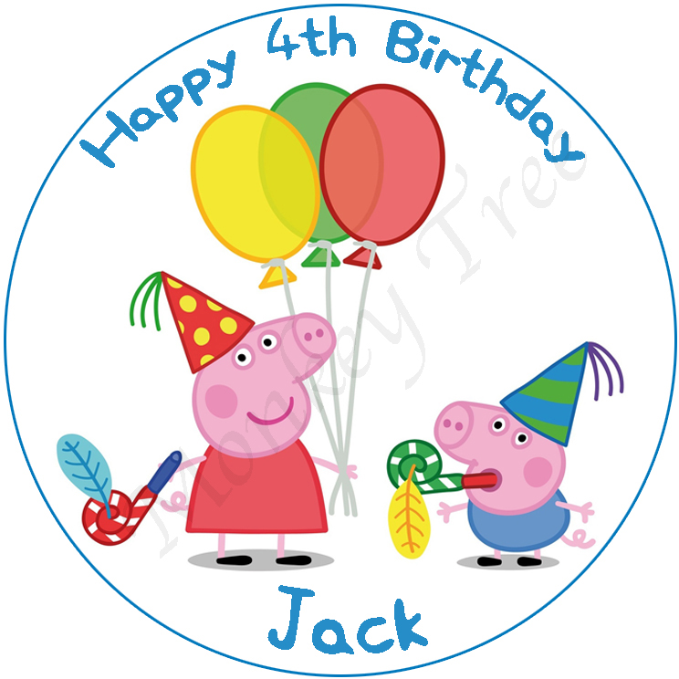 Peppa Pig Cake Toppers Nz
