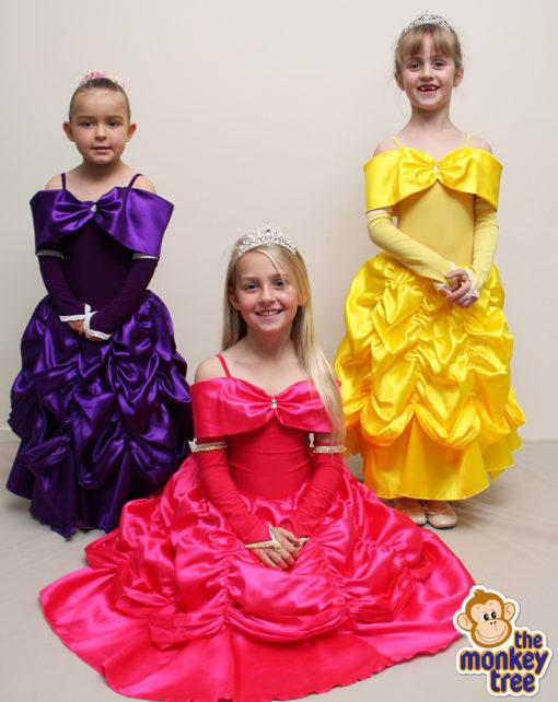 belle princess dress party