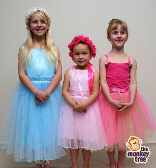 flower girl dress wedding princess birthday