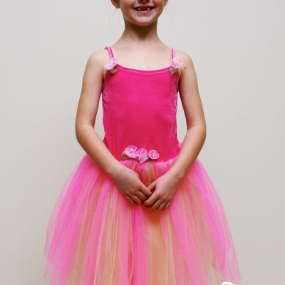 fairy princess tulle party dress