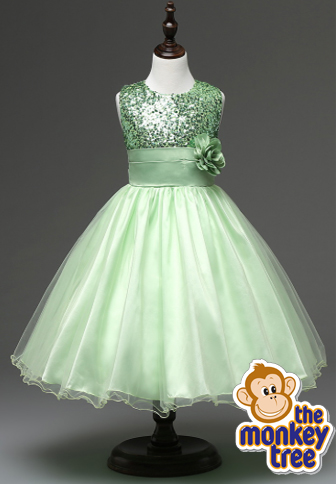 party dress fairy sequin wedding princess tulle