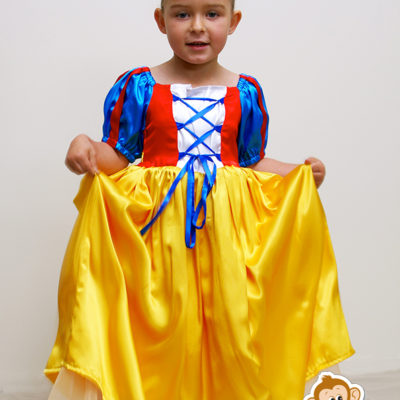 snow white princess dress party