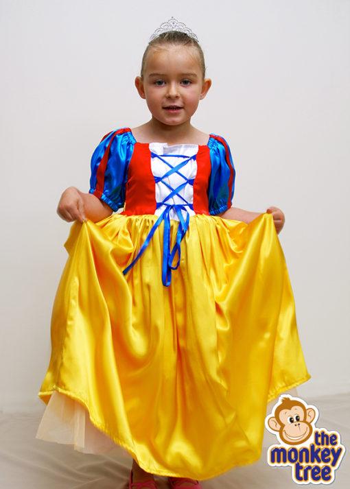 snow white princess dress party