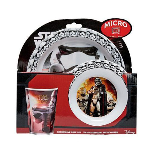 star wars dinner set melamine