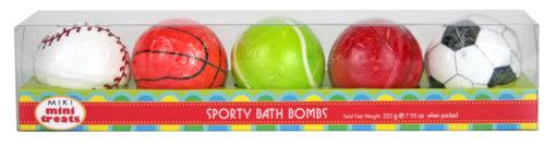 miki sports ball bath bombs