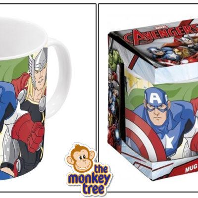 avengers ceramic mug