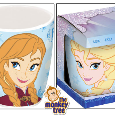 Frozen ceramic mug