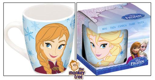 Frozen ceramic mug