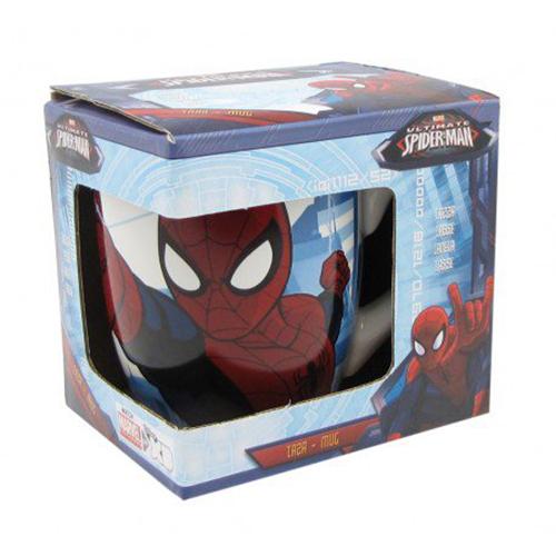 spiderman ceramic mug