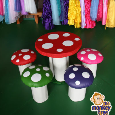 toadstool table wooden handmade