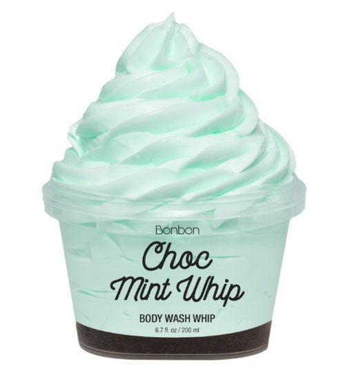bonbon mint whip body wash